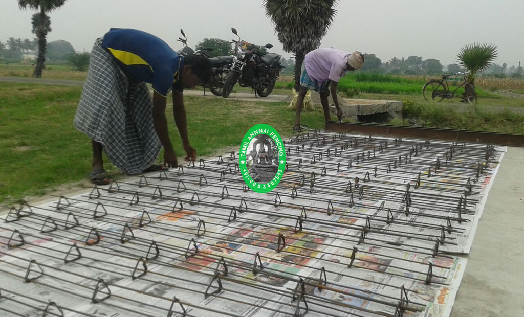 cement poles making