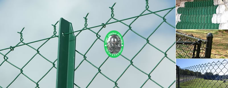 pvc chainlink fencing in chennai