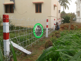 barbed fencing service
